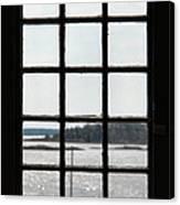 Through An Old Window Canvas Print