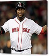 Toronto Blue Jays V Boston Red Sox 3 Canvas Print