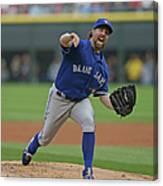 Toronto Blue Jays V Chicago White Sox Canvas Print