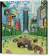 New Yorker August 27th, 2012 Canvas Print
