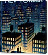 New Yorker October 25th, 2010 Canvas Print