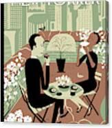 New Yorker April 23rd, 2012 Canvas Print