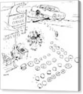 New Yorker September 7th, 2009 Canvas Print
