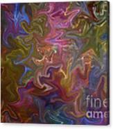 Agitated Canvas Print