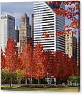 Usa, Illinois, Chicago, Millennium Canvas Print