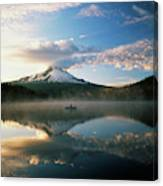Usa, Oregon, Mount Hood National Canvas Print