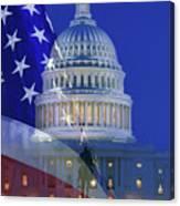 Usa, Washington Dc Canvas Print