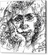 Viola Canvas Print