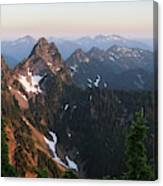 Washington, Cascade Mountains, Mount Canvas Print