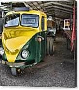3 Wheeler Truck Canvas Print