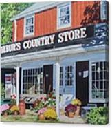 Wilbur's Country Store Canvas Print