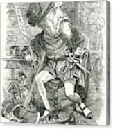 William Harrison Ainsworth  English Canvas Print