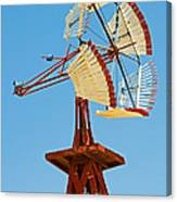 Wind Mills In West Texas Canvas Print