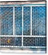 Window Of Soviet Building Canvas Print