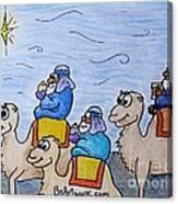 3 Wise Men Canvas Print