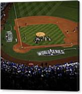 World Series - San Francisco Giants V Canvas Print