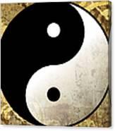 Yin And Yang 4 Canvas Print