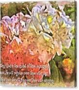 Zephaniah 3 17 Canvas Print