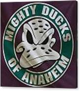 Anaheim Ducks Canvas Print