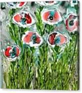 Zenmoksha Flowers Canvas Print