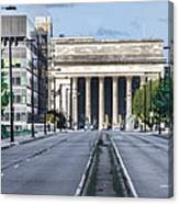 30th Street Station From Jfk Blvd Canvas Print