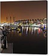 Long Beach Marina- California Canvas Print