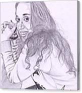Pencil Sketches Canvas Print