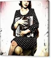 Typewriter Erotica Canvas Print