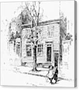 Walt Whitman (1819-1892) Canvas Print