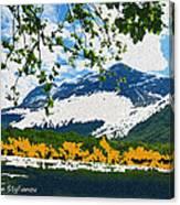 Norway  Landscape Canvas Print