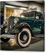 '33 Plymouth Canvas Print