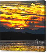 333 Marine Sunrise Canvas Print
