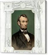 Abraham Lincoln (1809-1865) Canvas Print
