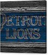 Detroit Lions Canvas Print