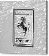 Ferrari Emblem Canvas Print