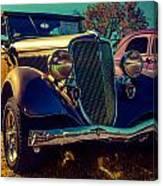 34 Ford Conv Canvas Print