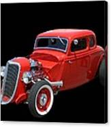 34 Ford Coupe Canvas Print
