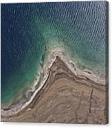Observation Of Dead Sea Water Level Canvas Print