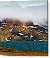 Iceland, Ice & Fire Canvas Print