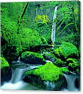 Usa, Oregon, Columbia River Gorge Canvas Print