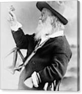 Walt Whitman (1819-1892) Canvas Print