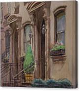 36th Street Ny Residence Of Fdr Canvas Print