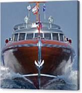 Iconic Thunderbird Yacht Canvas Print