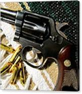 38 Revolver Canvas Print
