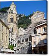 Views From The Amalfi Coast In Italy Canvas Print