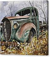 39 Ford Truck Canvas Print