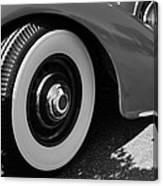 39 Lincoln Zephyr Fender  Canvas Print