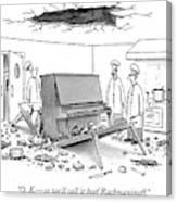 O. K. - So We'll Call It Beef Rachmaninoff Canvas Print