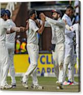 3rd Sunfoil Test: South Africa v India, Day 4 Canvas Print