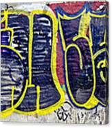 3t Graffiti Canvas Print